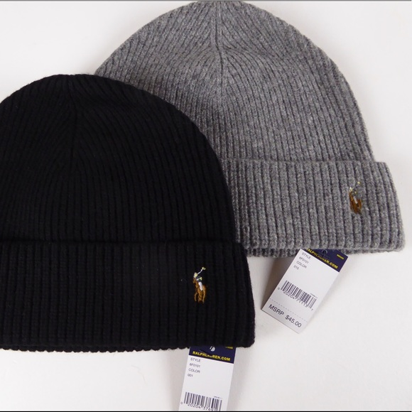 b88c8f7c9d20b Polo Ralph Lauren Wool Watch Cap Beanie Bundle NWT